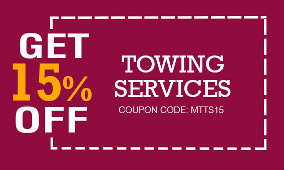 Manuels Towing 15% Off All Towing Services